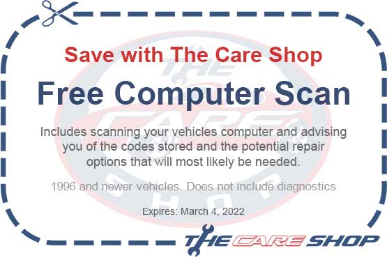 Automotive Repair Coupons Free Brake Inspection Free Computer